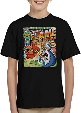 The Incredible Frost and Fire Adventure Time Kid's T-Shirt