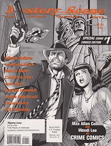 Mystery Scene Magazine #52 FN ; Fedora comic book