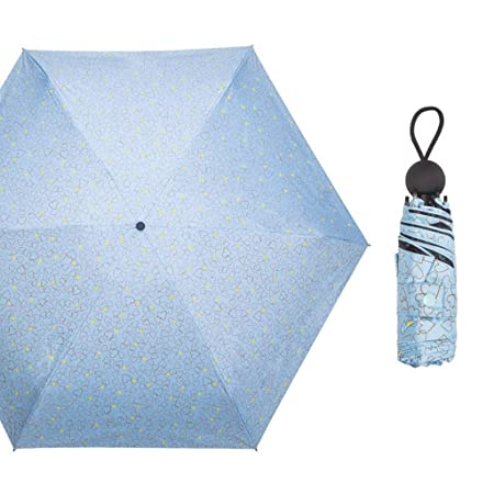 QAWSED Paraguas Plástico Negro Protector Solar Paraguas ...