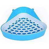 Plastic Pet Toilet, Small Animal Litter Tray Corner for Hamster Pig Rabbit Pee