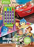 Disney Pixar Hopes and Heroes (Color & Activity with 4 Chunky Crayons)