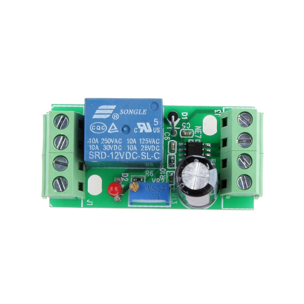 Magideal Dc 12v Delay Relay Shield Ne555 Timer Switch Adjustable Circuit With Using 555 Module 0 10 Second Car Motorbike