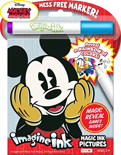 Bendon 43776 Disney Mickey Mouse Vintage Imagine Ink Magic Ink Pictures ()