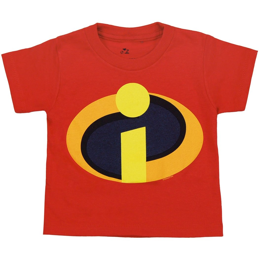 Disney The Incredibles Movie Symbol Toddler Juvy T-Shirt-2T