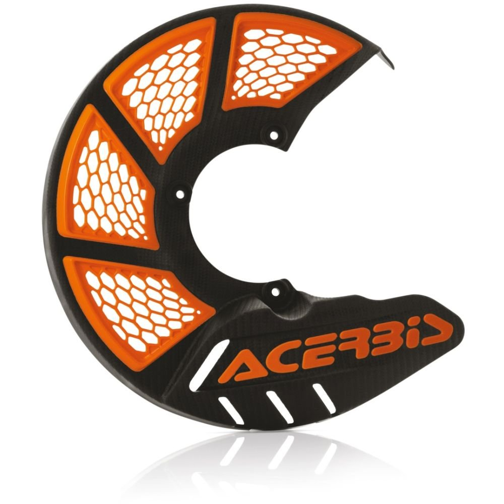 Acerbis 0022264.313 Paradisco X-Brake Vented Small 245 Mm, Nero/Arancio