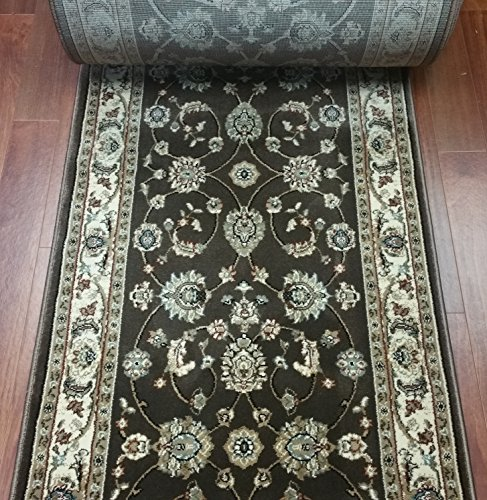 Ivory Custom Roll Runner (148625 - Rug Depot Traditional Stair Runners and Hall Runners - 26