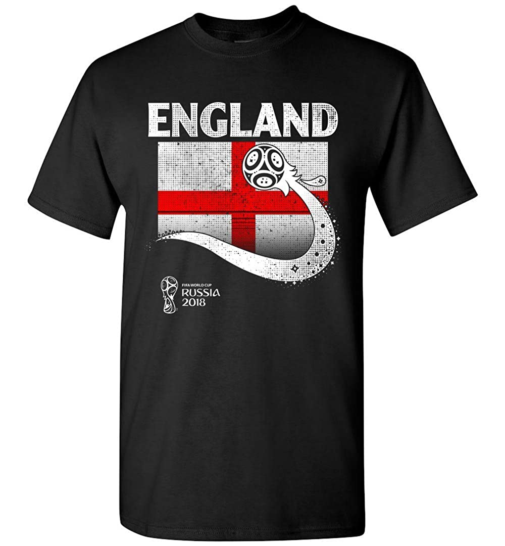 BEWSEL England World Football Cup 2018 Soccer T Shirt