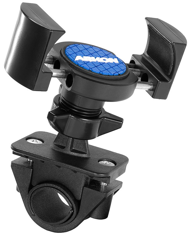 Arkon RoadVise Motorcycle Phone Mount for iPhone X 8 7 6S Plus iPhone 8 7 6S Galaxy Note 8 S8 S7 Retail Black