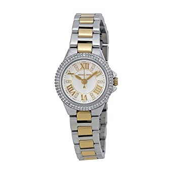 d162c051247f Amazon.com  Michael Kors Camille White Dial Crystal-set Two-tone Ladies  Watch MK3260  Michael Kors  Watches