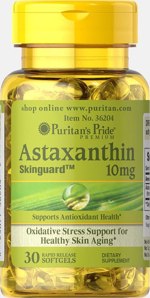 Puritan's Pride Natural Astaxanthin 10 mg-30 Softgels