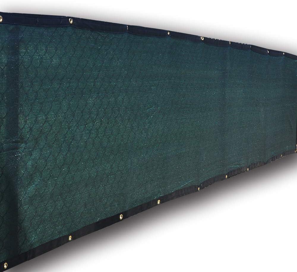 Alion Home Privacy Screen for Backyard Deck, Patio, Balcony, Fence. (3' X16') Dark Green