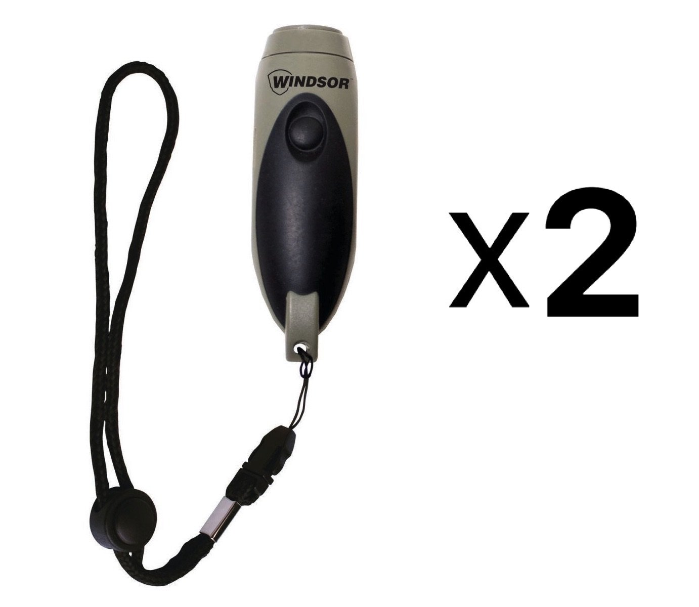 Windsor Three Tone Electronic Whistle (2 pack)