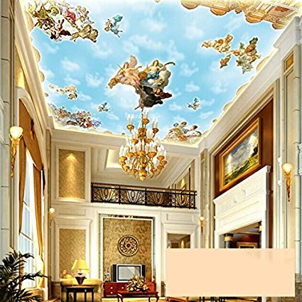 Living Room European Ceiling Design
