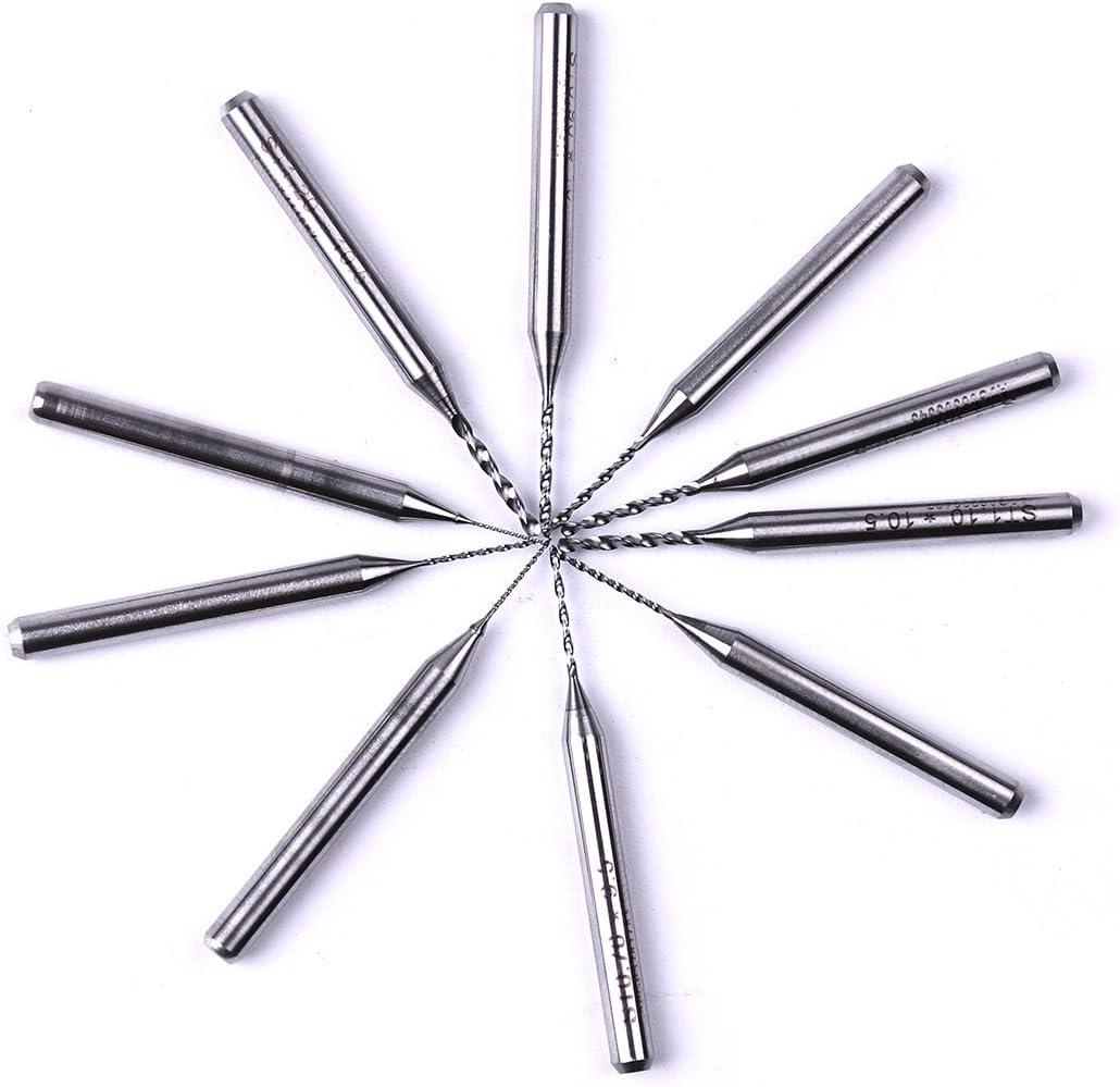 /1.2/mm PCB CNC gioielli attrezzo rotativo Atoplee 10PCS carburo micro punte punte 0.3/