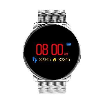 Ausomely Montre Connectée Bracelet Fitness Tracker dActivité Cardio fréquencemètre Cardio Podomètre Sport Compteur de