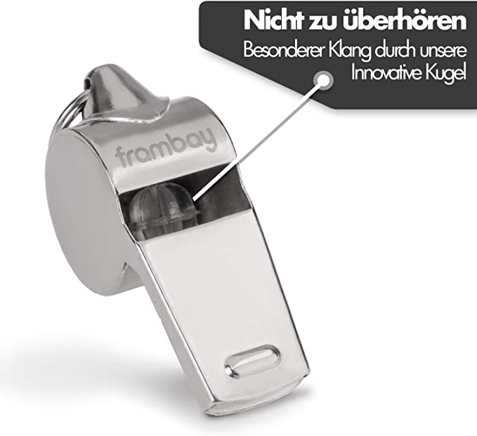 Premium Trillerpfeife Vielseitig Pfeife Profi whistle mit ausgezeichnetem