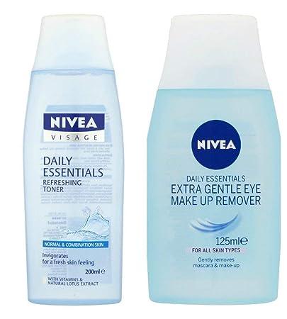 Nivea Visage Eye Make-Up Remover 77145 125ml Eye Make-up Remover Refreshing Toner
