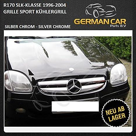 Germancarparts Gcp 170041 Grill Silber Chrom Auto