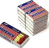 Wooden Kitchen Matches, Strike On Box, 32 Matches Per Box...