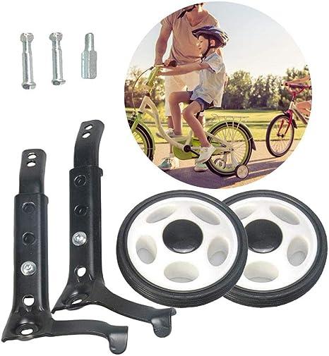 Universal Kids Bikes Cycle Training Wheels Bike Stabilisers Wheels for 16-24/'/'