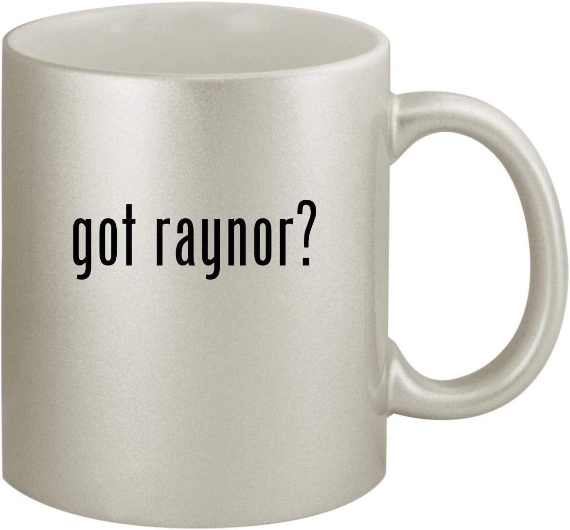 got raynor? - Ceramic 11oz Silver Coffee Mug, Silver