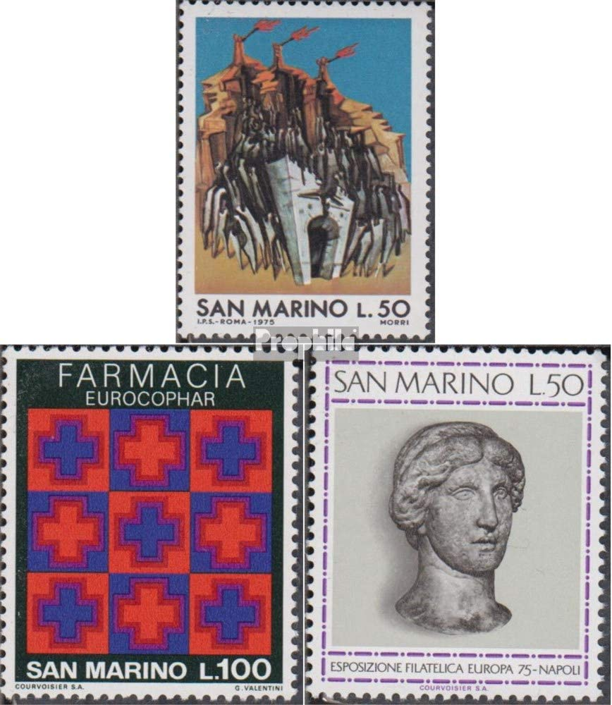 Prophila Collection San Marino 1087,1095,1096 (Completa.edición ...