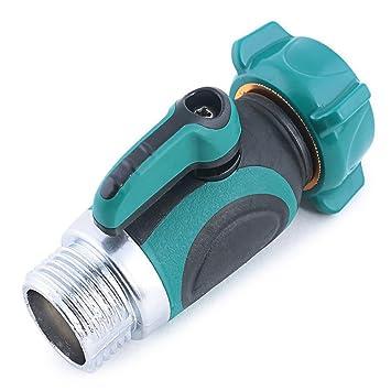 Kihappy Garden Hose To Shut Off Valve Connect Outside Spigot Friendly Faucet  Extension   Ergonomic Aesthetic