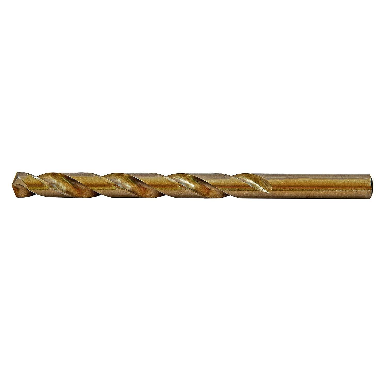 MaxTool #21 Wire Gauge HSS M35 5/% Cobalt Jobber Drill Bit Bronze 135 Deg Split Point; JBN35G10R21