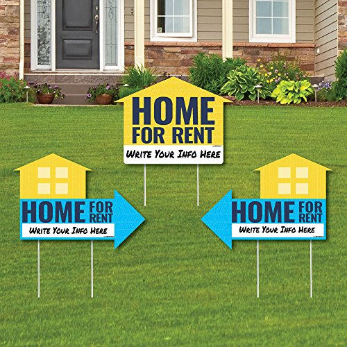 Home for Rent Signs - Yard Sign with Stakes - Double Sided O