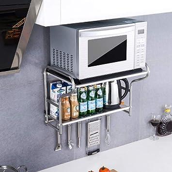 ZMW 304 Acero Inoxidable Organizador Estanteria Cocina,2 niveles ...