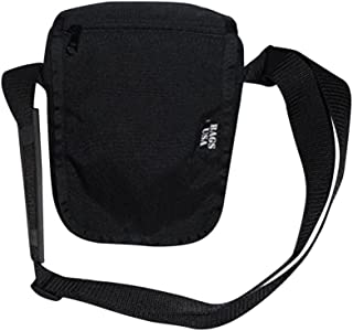 product image for Shoulder bag,Guide bag carry your passport,boarding pass Made in U.S.A (Black)