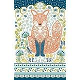 "Ulster Weavers 022WFX 29.1"" x18.9"" Woodland Fox Cotton Tea Towel"