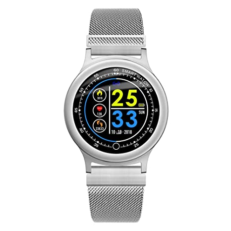 OOLIFENG Fitness Tracker Reloj Pulsómetro, Rastreador de Actividad ...