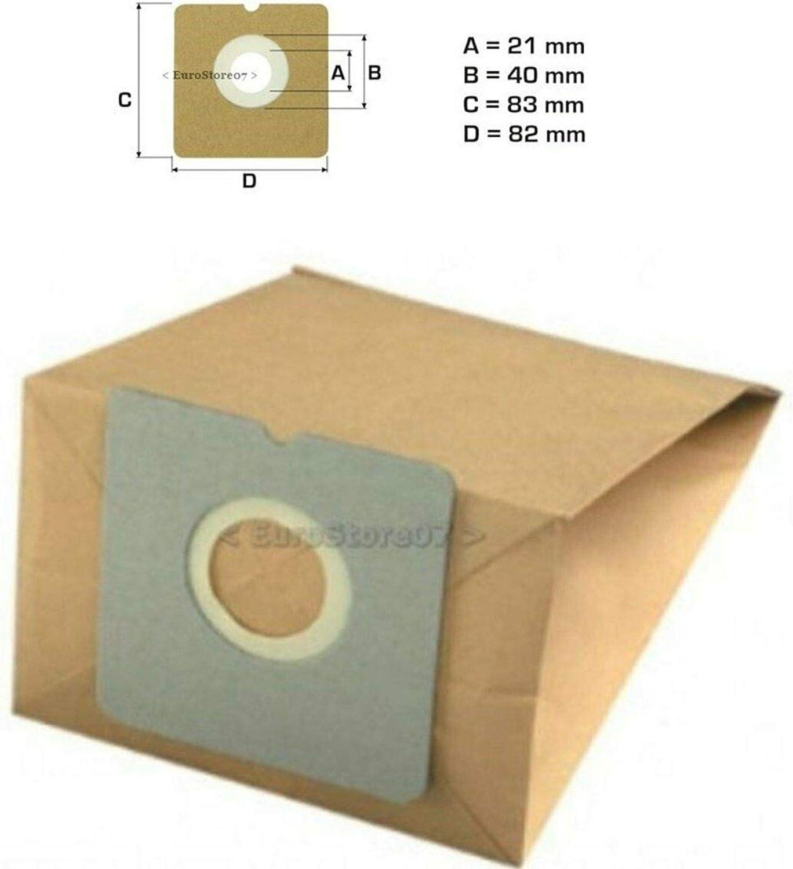 6 Sacchetto per aspirapolvere adatto come x 82