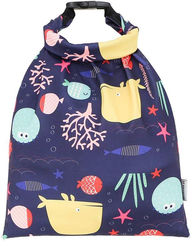 Pet Water Dispenser- Creative Outdoor Pet Food Bag Portable Pet Snack Travel Storage Bag for Cat Dog (Pink)