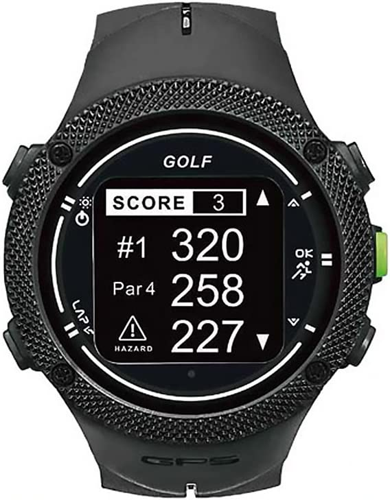 Lofthouse ProNav X3 GPS Golf Rangefinder Watch - 1 Year Warranty
