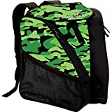 Transpack XT1 Ski/Snowboard Boot and Gear Bag Backpack 2017 Green Camo