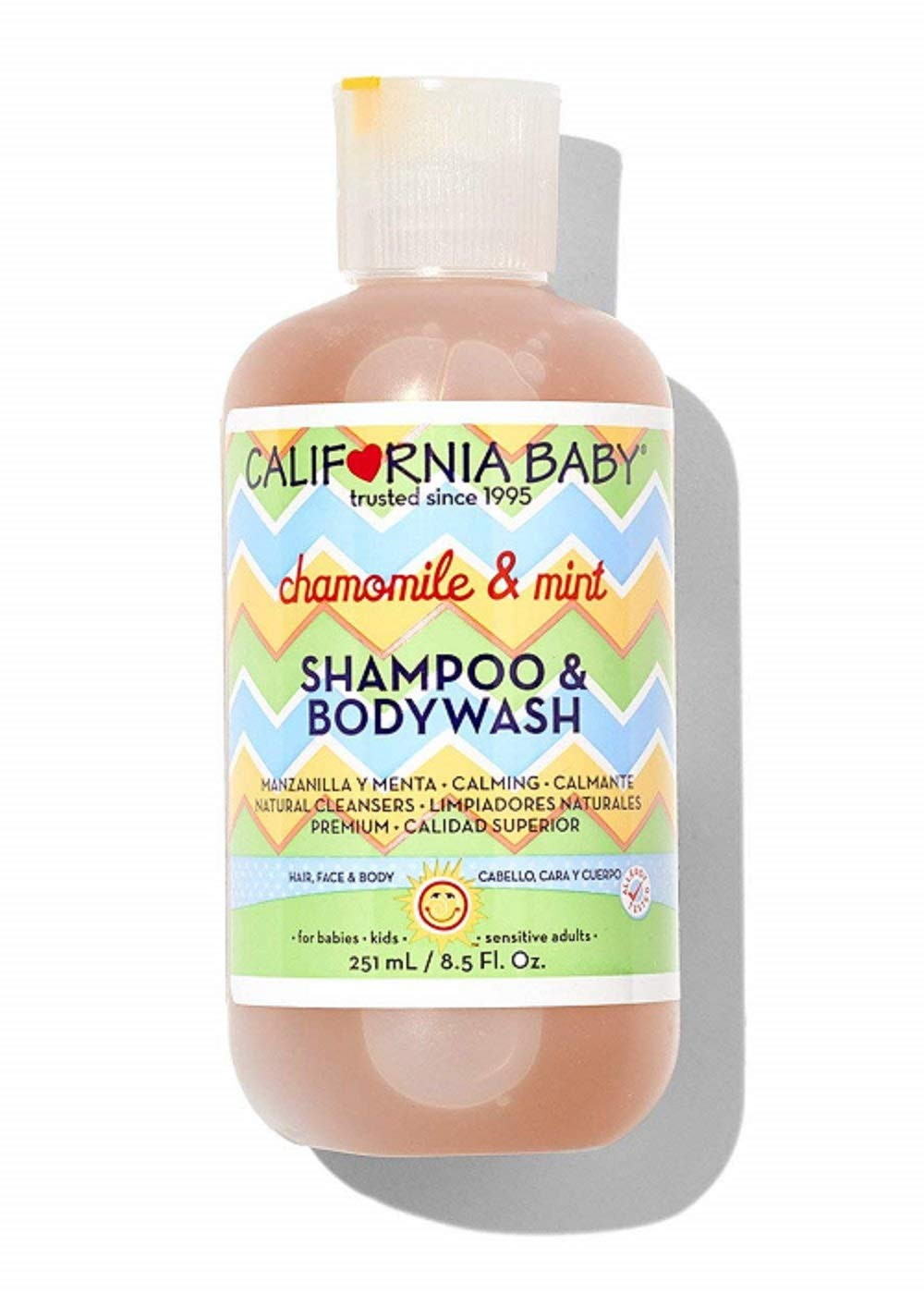 California Baby Chamomile & Mint Shampoo & Bodywash- 8.5 oz CB-207