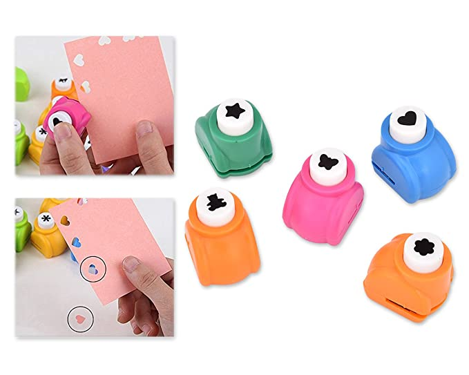Shopready Hole Puncher 5 Pieces Paper Punches For Craft Paper Shape