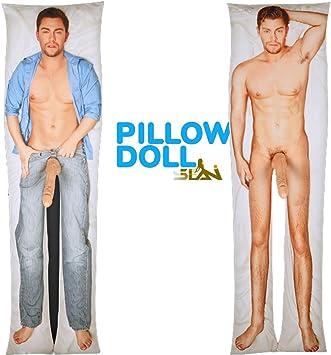 Amazon.com: selanitm muñeca almohada hinchable de mujer ...