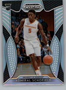 Admiral Schofield 2019-20 Panini Prizm Draft Prizms Silver #41 RC NM-MT Basketball NBA