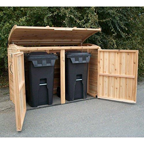 6'x3' Oscar -Waste Management Shed