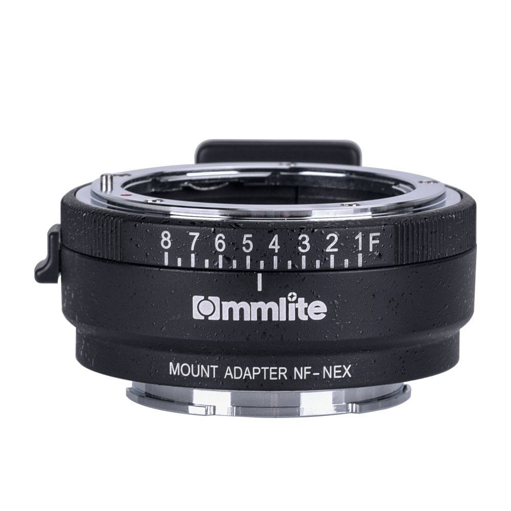 Commlite CM-NF-NEX Manual Focus Lens Mount Adapter for Nikon G,F,A ...