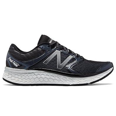 87d21b579735f New Balance Men's, 1080v7 Running Sneakers Black Silver 8.5 D