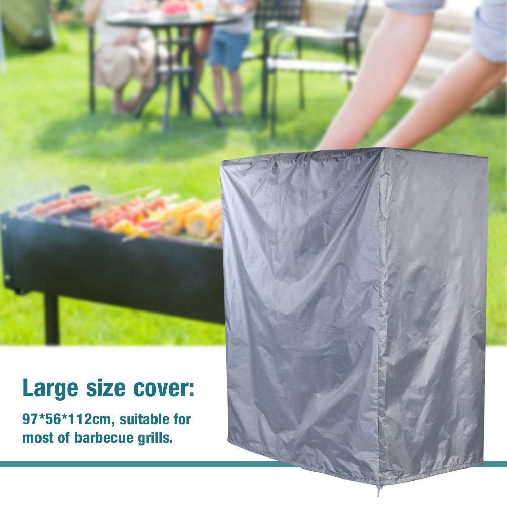 Grigio Protezione Impermeabile per Barbecue a Gas per Barbecue Protezione per Esterni Resistente Nannday Copertura della griglia