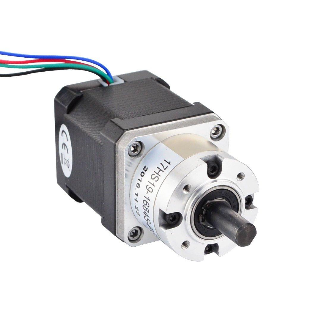 1/imprimante 3d extrudeuse Moteur DIY CNC Robotics clefs NEMA 17/Moteur pas /à pas Gear Ratio 5