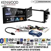 Volunteer Audio Kenwood DDX9904S Double Din Radio Install Kit with Apple CarPlay Android Auto Bluetooth Fits 2000-2005 Buick LeSabre, 2000-2005 Pontiac Bonneville (With Bose)