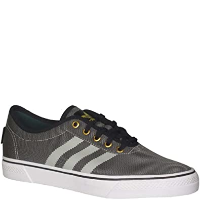 Amazon.com   adidas Men's Adiease Classified Skate Shoes Grey One/Core Black/Running  White D(M) US   Fashion Sneakers