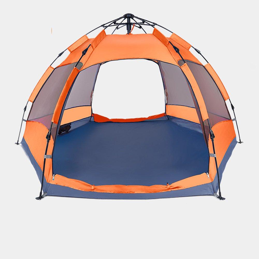 QFFL B07C4TJ6GJ zhangpeng テント自動増粘防雨屋外テント3-4人キャンプ場テントダブルファミリーキャンプテント2色オプション トンネルテント (色 : Orange) QFFL Orange (色 B07C4TJ6GJ, 株式会社ウエキ:a4f3f6ff --- ijpba.info
