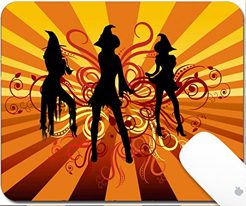 Free Scroll Background (Luxlady Gaming Mousepad Three groovy witches dancing with 70s retro background and scrolls 9.25in X 7.25in IMAGE: 1903919)